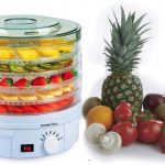 PremierTech PT-DE5 Essiccatore Frutta Verdura Carne Erbe 5 piani temp. 35-70 gradi 245watt ventola