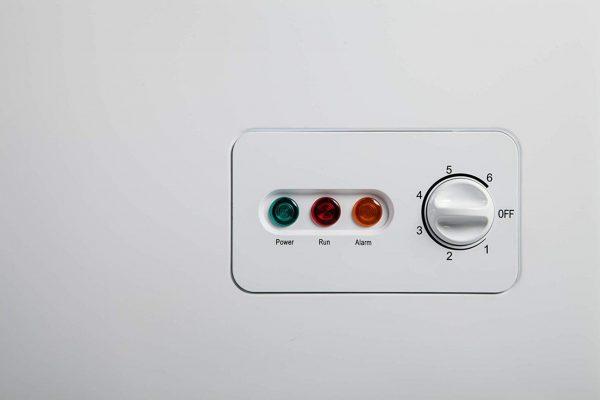 PremierTech Congelatore a Pozzetto 200 litri con cestello e ruote -24°gradi A++ 4**** Stelle PT-CP200 343420