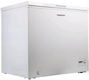 PremierTech Congelatore a Pozzetto 250 litri con cestello e ruote -24°gradi A++ 4**** Stelle PT-CP250