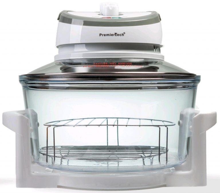 PremierTech PT-FA12 Forno Alogeno ad Aria Ventilato 17 litri 1400 watt cuoce senza olio