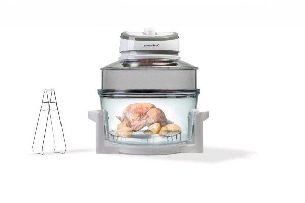 PremierTech® PremierTech PT-FA12 Forno Alogeno ad Aria Ventilato 17 litri 1400 watt cuoce senza olio