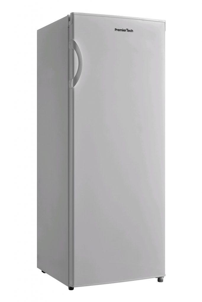 PremierTech PT-FR153S Congelatore Verticale Freezer 160 litri -24°gradi A++ 4**** Stelle 3 Cassetti e 2 Sportelli SILVER