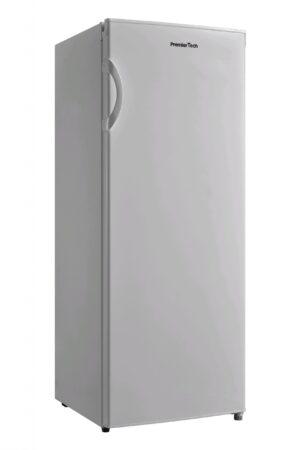 PremierTech PT-FR153S Congelatore Verticale Freezer 160 litri -24°gradi Classe E (ex A++ ) 4**** Stelle 3 Cassetti e 2 Sportelli SILVER