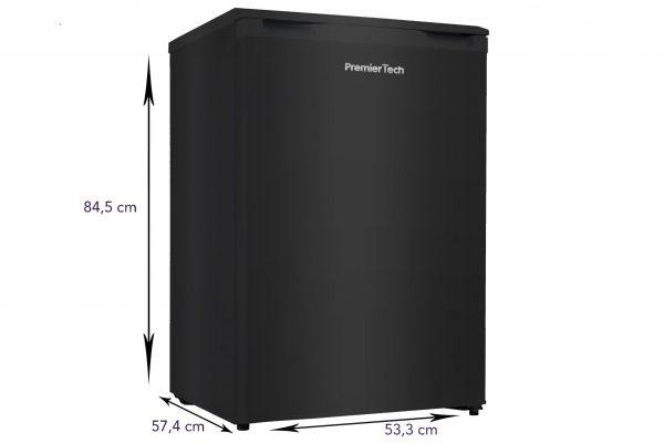 PremierTech PT-FR86B Freezer Congelatore 86 litri Nero -24° gradi 4**** Stelle A++ 39dB 343398