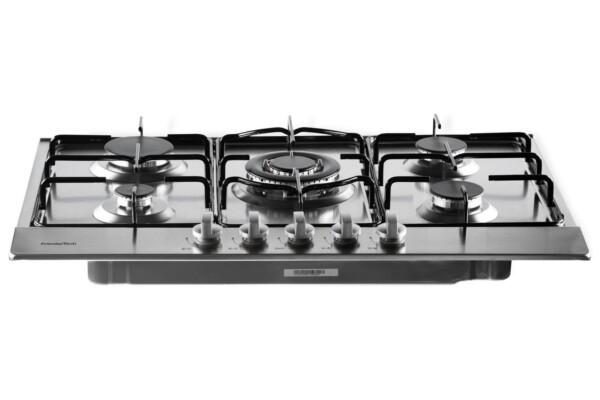 PremierTech® PremierTech PC5G75 Piano cottura a gas 5 fuochi 75cm Inox