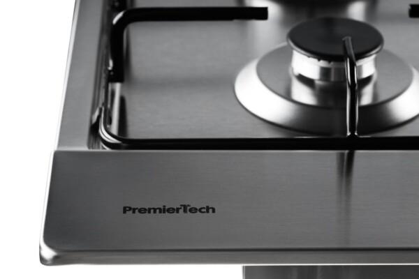 PremierTech PC5G75 Piano cottura a gas 5 fuochi 75cm Inox