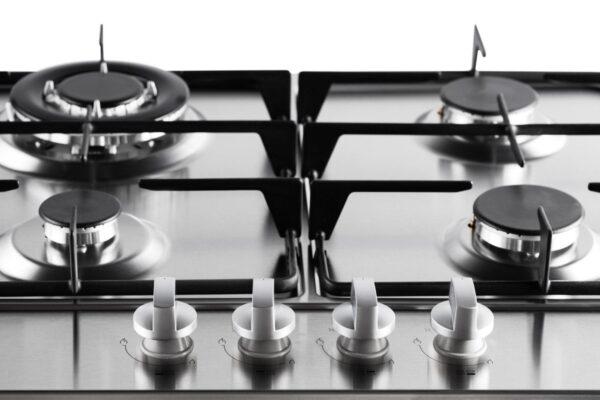 PremierTech® PremierTech PC4G60 Piano cottura a gas 4 fuochi 60cm Inox