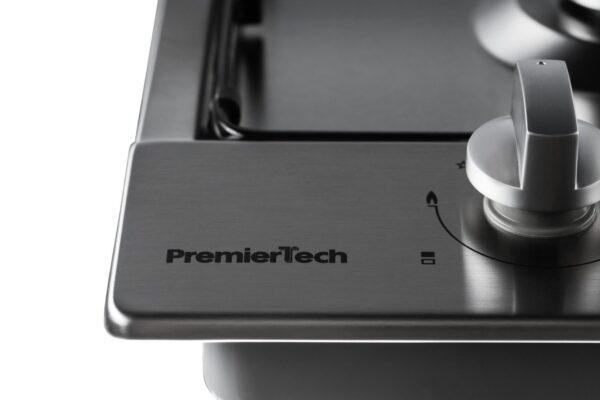 PremierTech PC2G30 Piano cottura a gas 2 fuochi 30cm Inox