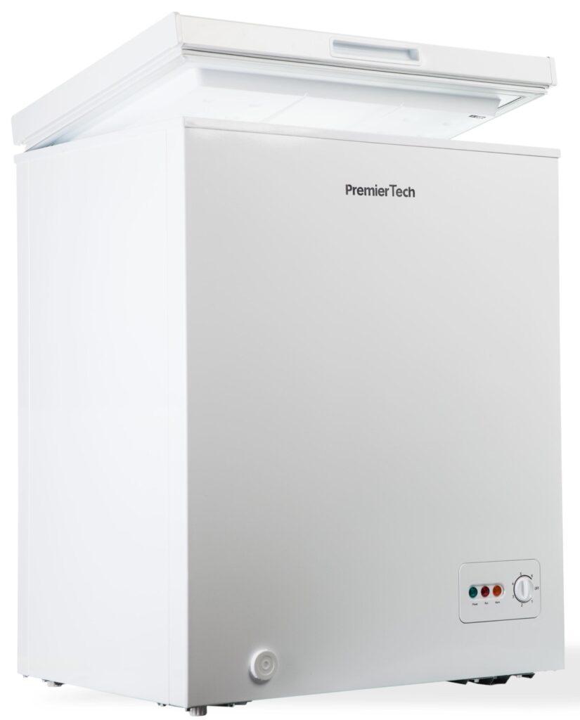 Congelatore a Pozzetto 100 litri con cestello -24°gradi Classe E (ex A++) 4**** Stelle PremierTech PT-CP100